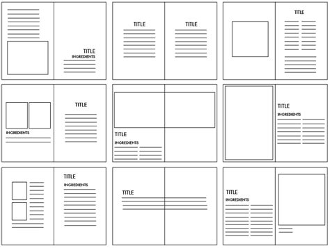 magazine grid layout templates magazine and book layout and grids part 2 resource tool