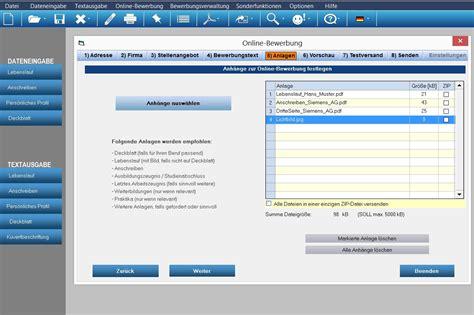 Bewerbungsunterlagen Erstellen Bewerbungsmaster Programm F 252 R Die Optimale Bewerbung