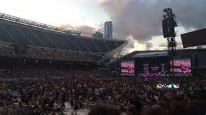 soldier field section 115 soldier field section 115 row 10 seat 2 one direction