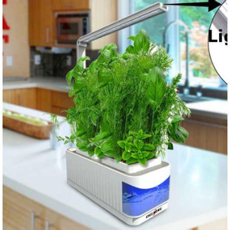 hydroponics grow light herb plants garden kit adjustable