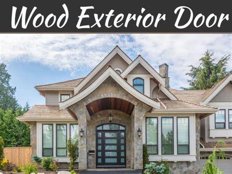 choose wood exterior door wood exterior door
