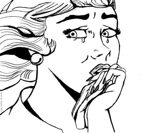 how to draw roy lichtenstein