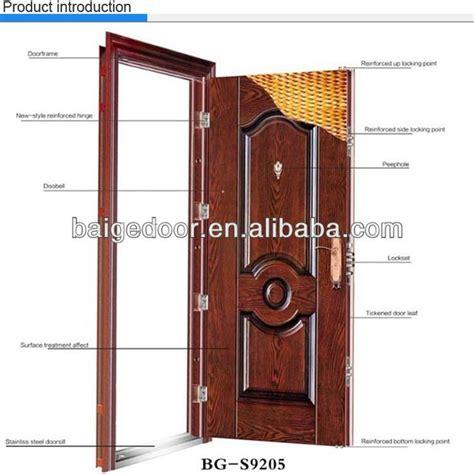 Bg S9001 Nigeria Door Steel Door Iron Exterior Door Price Exterior Steel Door Prices