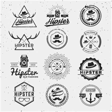 hipster tattoo logo hipster vectors photos and psd files free download