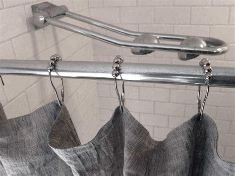 tenda doccia lino tende doccia in tessuto design casa creativa e mobili