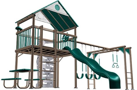 lifetime metal swing set lifetime 438001 swing set lifetime earthtone commercial