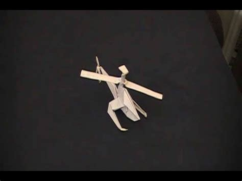 How To Make A Helicopter Out Of Paper - how to make a helicopter out of paper