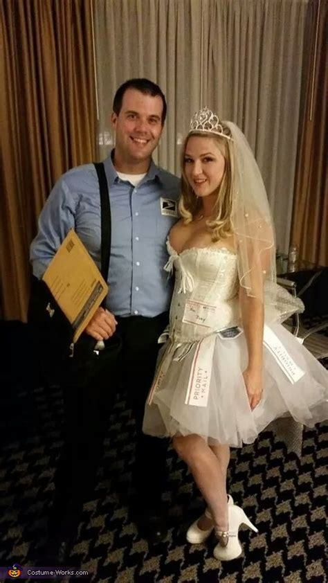 mail order bride  postal worker couples costume