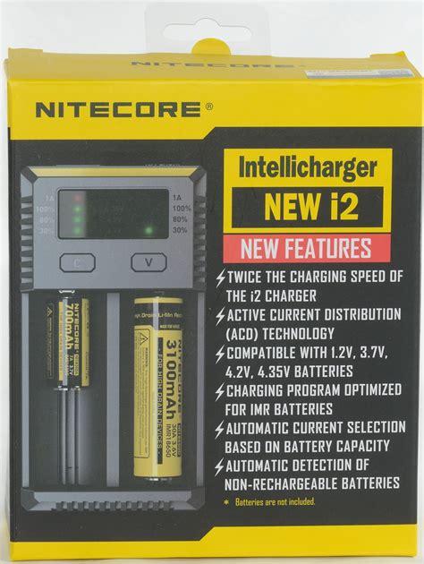 Charger Battery Nitecore Intellicharger Original New I2 review of charger nitecore intellicharger new i2 2016