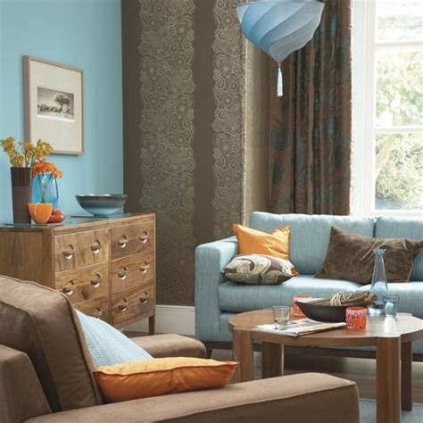 orange and blue rooms using colour with confidence dressingroomsinteriors