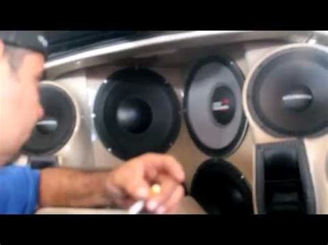 competition audio selenium speaker blows during car audio competition part