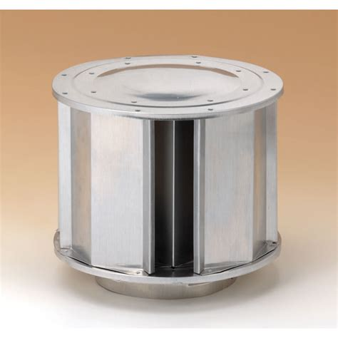 Fireplace Vent Cap by Dura Vent Type B Gas Vent Vertical High Wind Cap