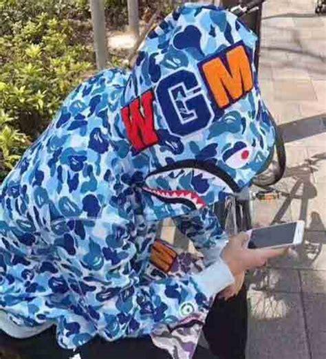 Bape Abc Camo Shark Blue blue zip abc camo bape shark hoodie dopestudent