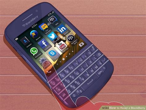 restart blackberry keyboard 3 easy ways to reset a blackberry with pictures wikihow