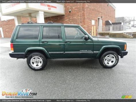 2001 Green Jeep Forest Green Pearlcoat 2001 Jeep Sport Photo 13