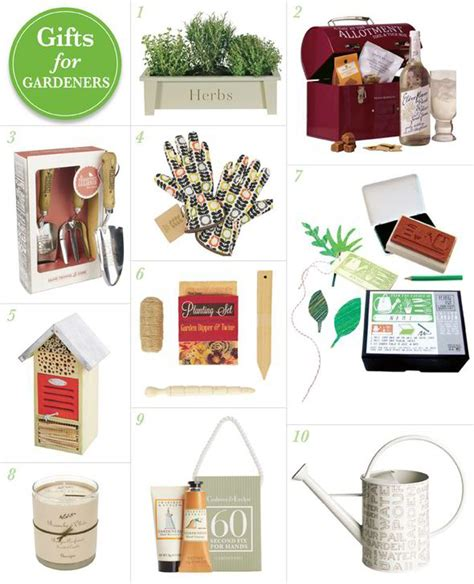 best christmas gifts for gardeners gifts for gardeners scented candles gloves and potted herbs garden style