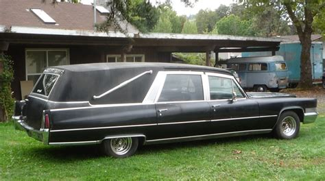 Cadillac Hearses Corpseside Classic 1970 Cadillac Hearse The About
