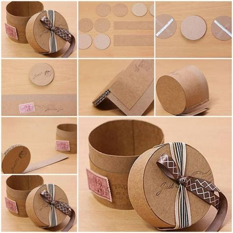How To Make Decorative Gift Boxes At Home by How To Make Cardboard Gift Box Diy Tutorial