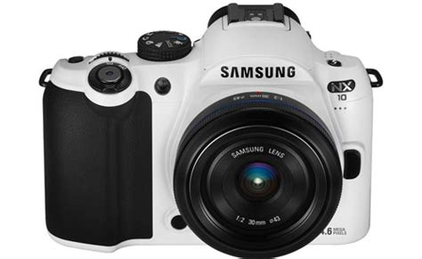 Korea Kamera samsung nx10 released in white in south korea sammy hub