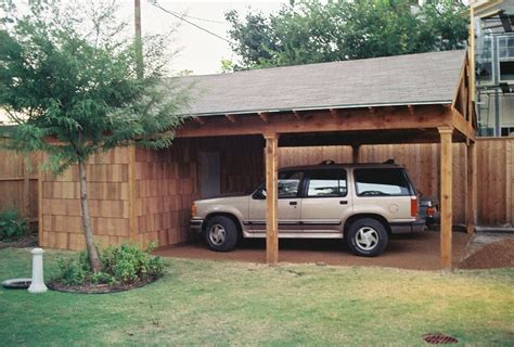 Wooden Car Ports by Carports Wood Crafters