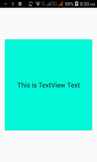 android textview layout height programmatically center textview text horizontally and vertically inside