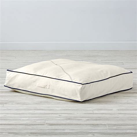 modern floor cushions modern nautical teepee floor cushion the land of nod