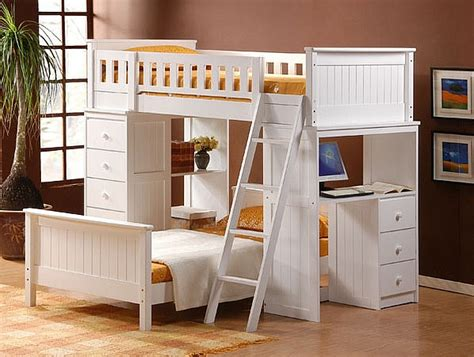 bunk beds with desk loft beds with desks underneath 30 design ideas with enigmatic touch