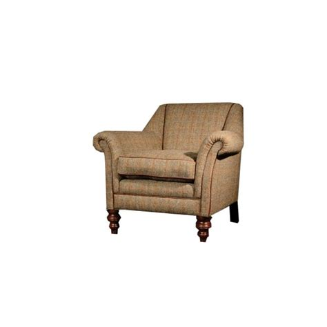 tetrad armchair tetrad dalmore harris tweed armchair in fabric at smiths