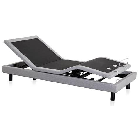malouf structures m510 adjustable bed base stm510kdab king m510 adjustable bed base 1