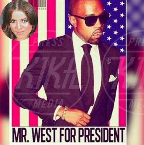 khloe kã che kanye west fa il pieno di che lo vogliono presidente