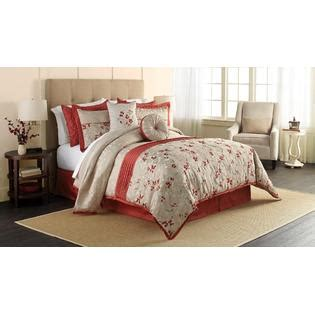 jaclyn smith bedding jaclyn smith krista 6 piece comforter set floral home