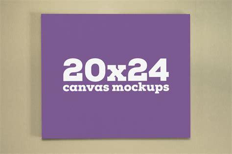 canva mockup 20x24 canvas mockups product mockups on creative market