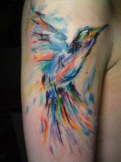 if your a bird im a bird tattoo watercolor bird these brush stroke style tattoos