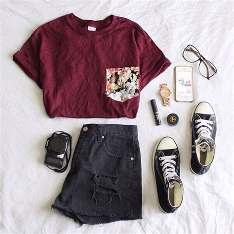 tumblr summer outfit ideas shorts outfit ideas tumblr