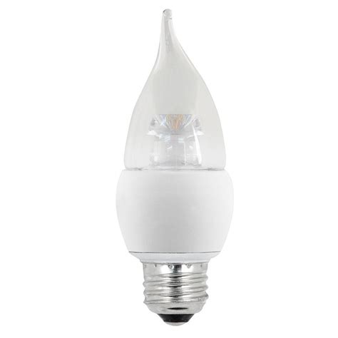 Ecosmart 60w Equivalent Soft White B10 Medium Base 60 W Led Light Bulbs