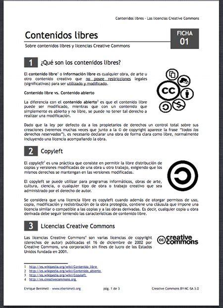 imagenes libres de licencia contenidos libres las licencias creative commons esfera tic