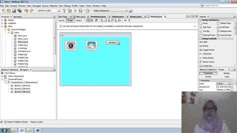 tutorial membuat menu login dengan java netbeans dan tutorial membuat tilan menu dan submenu menggunakan
