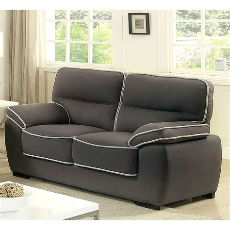 couch exchange furniture of america elley loveseat sofas couches