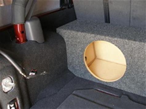 Jeep Wrangler Unlimited Subwoofer Box 2007 2015 Jeep Unlimited 4 Door Subwoofer Enclosure