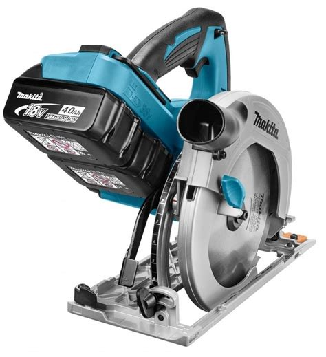 afkortzaag diamant makita dhs710z twin 18v cordless circular saw body only