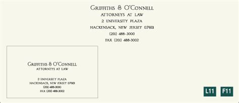 legal and professional stationery design templates