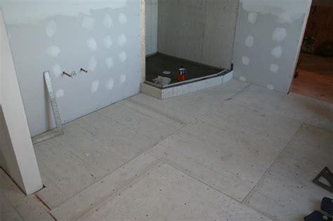 Heated Bathroom Floors by Nest Homes Construction Water Heated Bathroom Floor