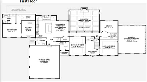 basketball floor plan house plan with basketball court cool chelsea farmhouse floorplan nurani
