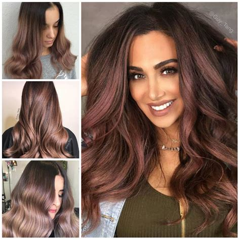 tintura new color chocolate malva color de cabello para el a 241 o 2017 peinados