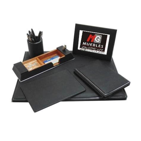 juegos para escritorio juego de escritorio en piel ap je07r mg muebles