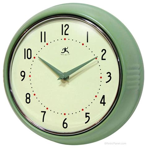 green kitchen clocks green wall clock modern wall clocks by retro planet