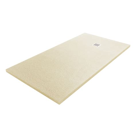 fiora silex silex low profile designer coloured shower trays