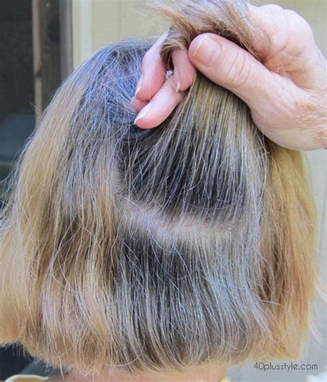 transition to grey hair styles for long hair the story of how one woman is making the transition to