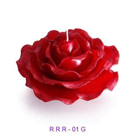 candele rosse scented candle glitter vanda siam
