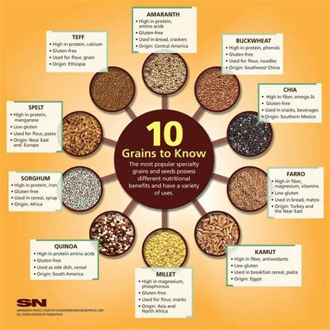 7 whole grains list 7 best images about grains on nutrition